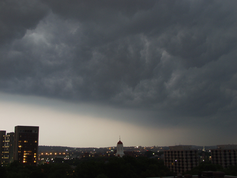 Cambridge Storm Rolls in Lastnight, June 20th, 2001