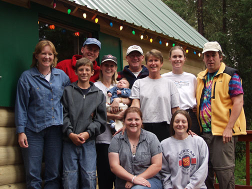 All of us at Karen's Cool Cabin- August 2001