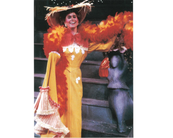 "Shana as Ernestina Money in ""Hello Dolly"""