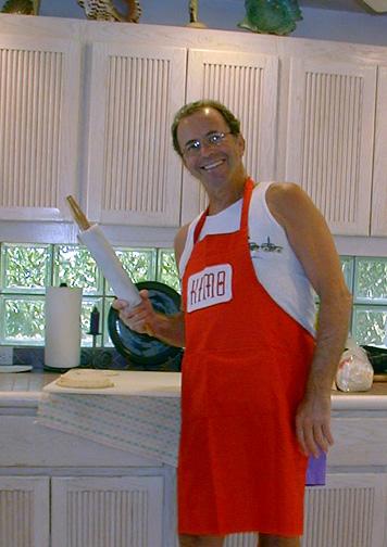 Maui Dad Kimo Carr Baking Fiend! :)