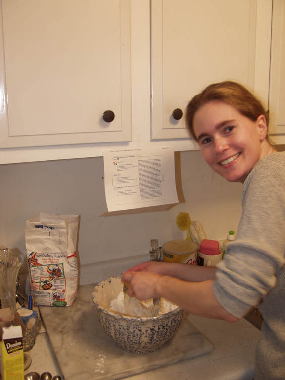 Shana Makin' Pies (Thanksgiving 2001)
