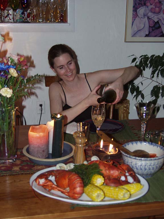 My BDAY Dindin, June 6th, 2001