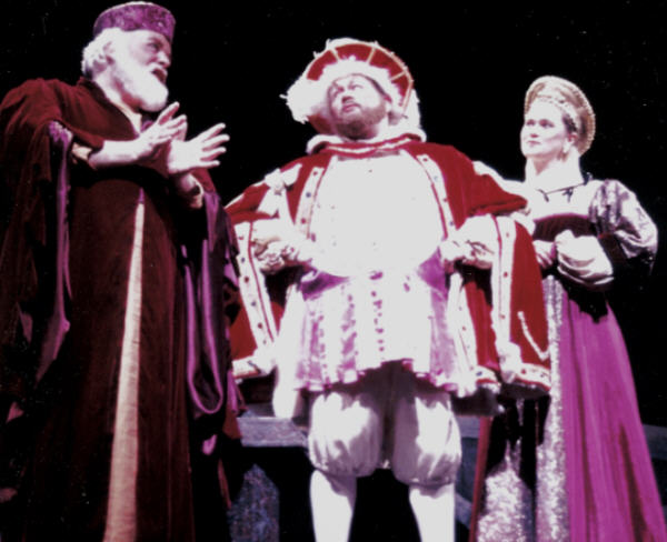 Lord St.John, King Henry VIII and Lady Hertford