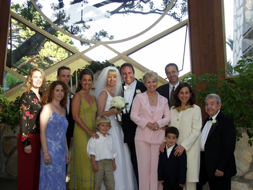 Tommy & Stacey's Wedding at Waferers Chapel in CA